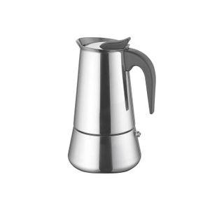 Weis 16979 Espressokocher 9 Tassen, silber