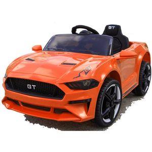 GT Raptor 2x Motoren Elektro Kinderauto Kinder Elektroauto mit Fernbedienung Orange