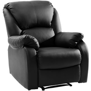 Relaxsessel Fernsehsessel Retro/ Vintage Stil ,160°drehbar,Klapp Einzelbett,bis 150kg,Schwarz