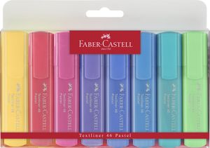 FABER-CASTELL Textmarker Textliner 154609 pastell 8er Etui