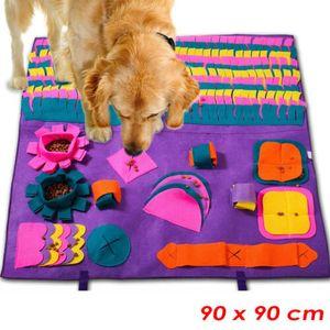 Melario Schnüffelteppich für Hunde Riechen Trainieren Matte Hunde Intelligenzspielzeug