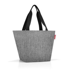Reisenthel Shopper M Einkaufstasche Schultertasche Twist Silver