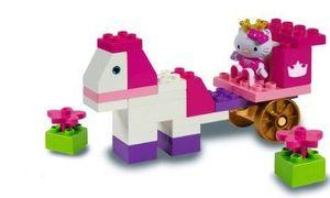 PlayBIG BLOXX 57056 Hello Kitty Princess Spielbox, Bausteine für Mädchen