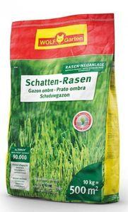 Wolf Garten Rasensamen / Saatgut Schattenrasen SCR500 für 500m²