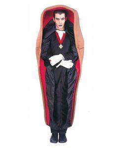 Vampir im Sarg - Dracula Halloween Kostüm