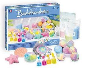 Sentosphere 02250 Kreativ-Kit Badebomben, Bastelset für Kinder und Erwachsene, DIY Badespaß, Mehrfarbig