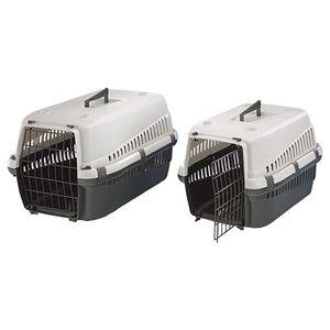 Nobby Transportbox für Hunde und Katzen, blau, groß