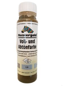 Meistergold Voll- und Abtönfarbe innen & außen Umbra Matt 250 ml