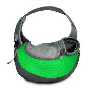 Style Transporttasche für Hunde Katze -Haustier-Hunde Tasche Umhängetasche für Transporter Kleintier Leinentaschen(S)
