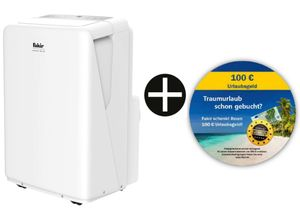Fakir AC120 Klimagerät, max. Raumgröße: 100 m³, 12.000 BTU/h