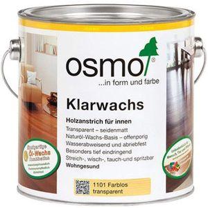 Osmo Holz Klarwachs farblos seidenmatt für Holz im Innenbereich 750ml