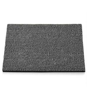 Premium-Kokosmatte Grau Stärke: 17 mm 40x60 cm