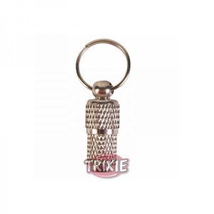 Trixie Adressanhänger verchromt - klein