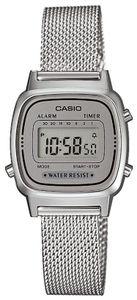 Casio Damenuhr Retro Damen Uhr LA670WEM-7EF Digitaluhr