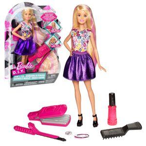 Barbie Wellen- und Lockenspaß Puppe. DWK49