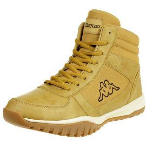 Kappa Herren Sneaker Boots Brasker Mid Beige, Größe:44