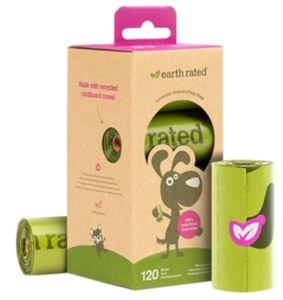 Hundekotbeutel Set Earth Rated 120 Stück - Kotbeutel mit Lavendelduft