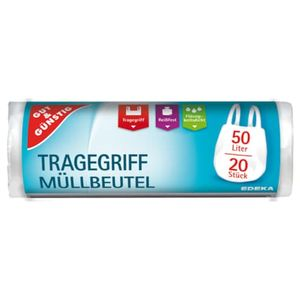 Gut &  Tragegriff-Müllbeutel 50l 20ST