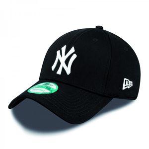New Era Cap 9FORTY League Basic NY Yankees Black/White Kids Youth, Cap:Kids
