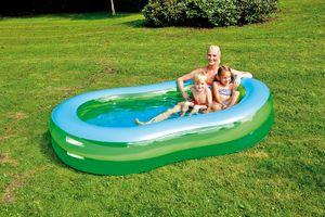 Jumbo-Pool 8-förmig ca. 250x147x40cm