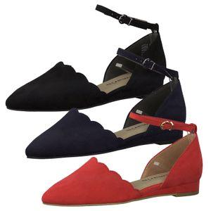 Tamaris 1-24201-24 Damen Spangenpumps Pumps, Größe:38 EU, Farbe:Rot