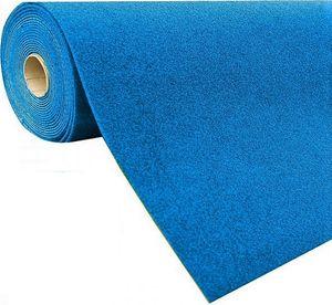 Rasenteppich Kunstrasen mit Noppen (1.550 g/m²), Farbe:Blau, Größe:200 x 400 cm