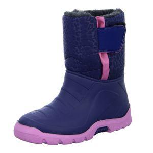 Sneakers Kinder Stiefel F540-22 Blau