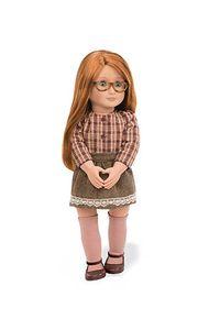 Our Generation - April Puppe 46 cm mit Karobluse