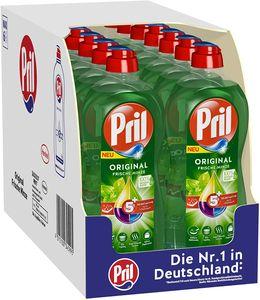 Pril 5 Plus Original Frische Minze Handgeschirrspülmittel 14x675 ml Spülmittel