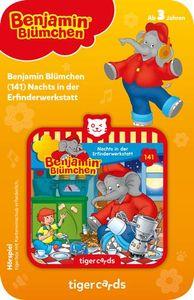 tigercard - Benjamin Blümchen (141): Nachts in der Erfinderwerkstatt - Tigermedia Karten