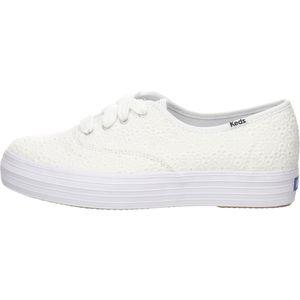 Keds Damen Sneaker Sneaker Low Textil weiss 39