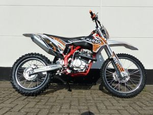 250ccm Dirtbike Vollsross Enduro Pitbike Crossbike Cross 26PS 21 19 Zoll orange