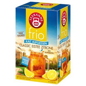Teekanne frio Classic Eistee Zitrone ohne Kalorien aus Schwarztee 45g