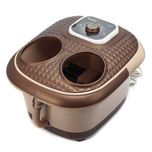 Hizek Fußwanne Fußmassage Fußbadewanne mit Massage und Heizung Fußbad Fußmassagegerät