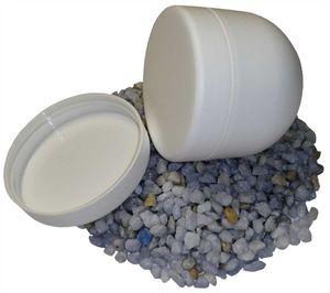 100  Weiß Cremedose, Cremdosen / Tiegel 30g Saphira Deckel Weiß
