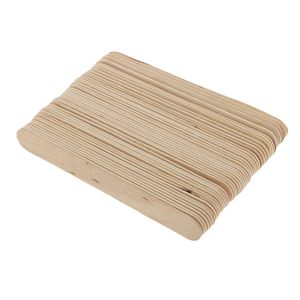 50 Stück Holzstäbchen, natur, 15*1.8*0.2cm Make-up / Rührstäbchen