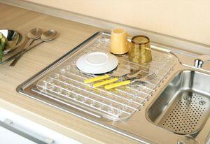 Abtropfmatte Kristall Spülen Waschebecken Küche rutschfest