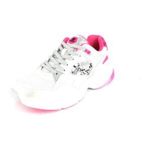 Dockers Sneaker  Größe 40, Farbe: weiß/ neon pink