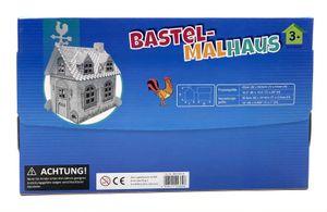 Idena Bastelhaus zum Bemalen 41x25x2,6cm Idena 10044364 Bastelhaus Malhaus