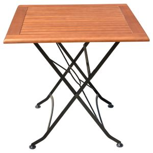 Tisch WIEN, quadratisch, klappbar