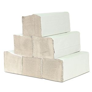 A&G-heute 1-lagig 25 x 23cm ZZ-Falz Krepp Natur Papierhandtücher Handtuchpapier Premium Falthandtuch 5000 Stück