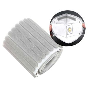 Spot 100 Masken hausgemachte Accessoires Nasenbrücke bequeme Schwammmaske Einstellschnalle-senden 10 Masken Silikon Einstellschnalle weiß