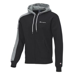 CHAMPION Hooded Full Zip Sweatshirt KK001 NBK/NGAM M