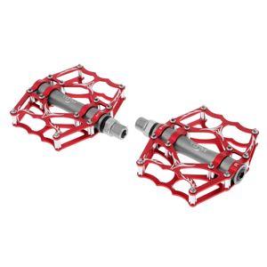 1 Paar Fahrradpedale Farbe rot Größe 118 x 103 mm