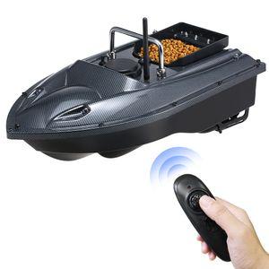 Fischköder Boot Ferngesteuert, Fisch Finder RC boot, 1.5kg Laden 400-500m, Futterboot Köderboot, Fischerboot für Erwachsene Anfänger