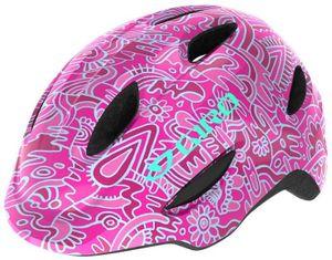 Giro Scamp Helm Kinder pink flower land Kopfumfang S | 49-53cm