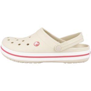 crocs Crocband Damen Clogs Stucco Melon Schuhe, Größe:M6 (38-39)