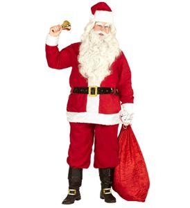 Weihnachtsmann Kostüm mit Jacke, Hose, Gürtel, Hut M - 3 XL - Classis XL/XXL 54-58
