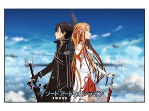 Sword Art Online Puzzle mit 1000 Teilen   Motiv: Kirito & Asuna