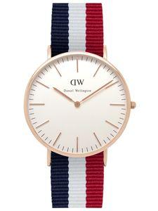 Daniel Wellington Uhr - Herrenuhr Cambridge Rose Gold - 0103DW